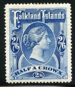 FALKLAND ISLANDS SCOTT# 20 SG# 41 MINT HINGED AS SHOWN MUH