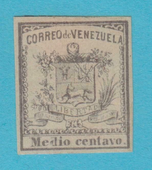 VENEZUELA 8A MINT HINGED OG NO FAULTS VERY FINE