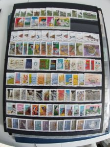 Lot France Autoadhesifs complete 9 series