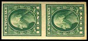 U.S. WASH-FRANK. ISSUES 408V  Mint (ID # 35168)