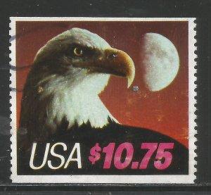 Lot # A130  Scott # 2122  $10.75 Eagle & Half Moon  Used