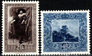 Liechtenstein #B20-21  F-VF Unused CV $10.00 (X8368)