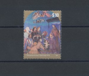 2014 Argentina, Natale, Frescoes, N° 1689, Issue Joint - Joint I