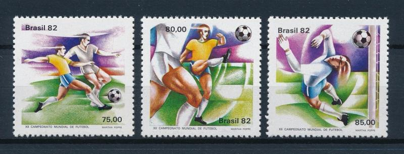 [59375] Brazil Brasilien 1982 World Cup Soccer Football Spain MNH
