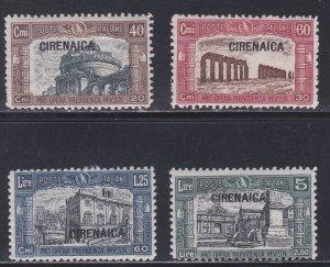 Cyrenacia # B13-16, Architecture, Various Buildings, Hinged, 1/2 Cat.