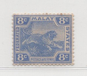 Malaya Federated Malay States - 1904-22 - SG42 - 8c Ultramarine - MH #445