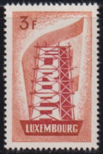 Luxembourg 1956 SC 319 MNH