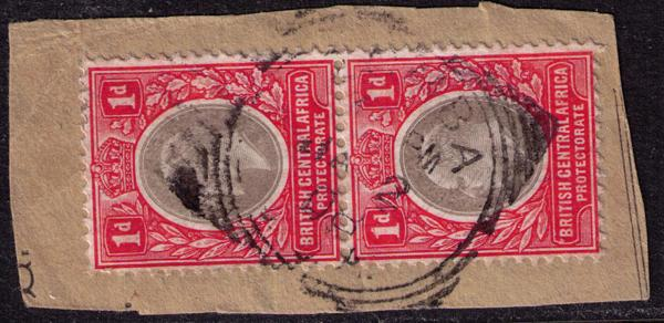 British Central Africa #  60  Used VF Deep Bay Cat $ 4.50+++