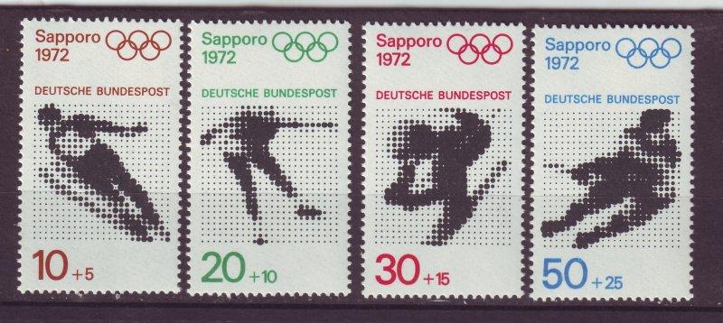 J24212 JLstamps 1971 germany set mnh #b472-5 sports