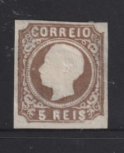 Portugal a MH 5r from the 1862 set