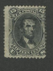 1866 US Stamp #77 15c Used Catalogue Value $170