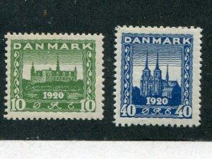 Denmark #159-60 Mint VF - Lakeshore Philatelics