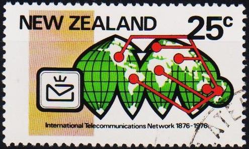 New Zealand. 1976 25c S.G.1114  Fine Used