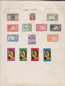 cayman islands stamps page ref 17403