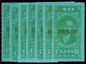 U.S. REV. TAXPAIDS TB95-102  Mint (ID # 76572)