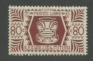 Wallis & Futuna Scott Catalog Number 132 Issued in 1944