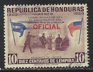 Honduras CO102 VFU Z5102-1