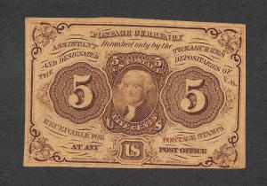 PC-5 Postal Currency, scv: $275, Free Insured Shipping