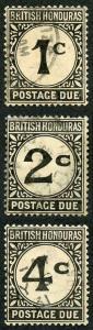 British Honduras SGD1/3 (2c creased) Fine used
