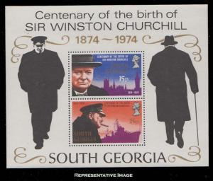 South Georgia Scott 40a Mint never hinged.
