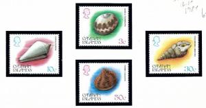 Cayman Is 518-21 MNH 1984 Seashells
