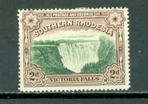 SOUTHERN RHODESIA  FALLS #37...PERF.14 ..MINT...$2.50