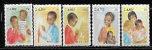Zaire MNH 1037-41 Christmas1981