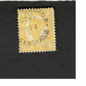 Queensland Australia SCOTT #118  RPO QUEEN VICTORIA used stamp