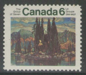CANADA SG660 1970 ANNIV OF GROUP OF SEVEN ARTISTS MNH