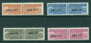 Trieste #QY1-QY4  Mint  F-VF NH  Scott $76.00