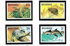 Bahamas 514-17 MNH 1982 Wildlife