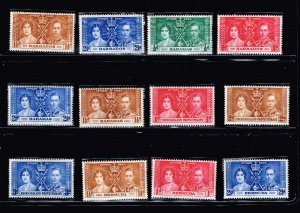 UK STAMP 1937 Coronation ISSUE COLLECTION LOT MNH/OG STAMP COLLECTION LOT #S8
