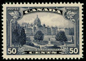 CANADA SG350a, 50c Dp Violet MAJOR RE-ENTRY,UNMOUNTED MINT.Cat £140.