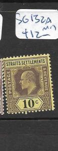 MALAYA  STRAITS SETTLEMENTS   (PP2305B)   KE 10C  SG 132A   MOG
