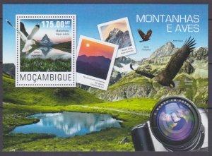 2014 Mozambique 7614/B962 Mountain birds 10,00 €