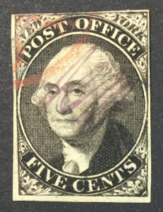 MOMEN: US STAMPS #9X1 USED LOT #44845