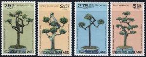 Thailand 1981, PLANTS  MNH set # 971-974