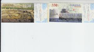 2016 Armenia Historic Capitals Issue (2) (Scott NA) MNH
