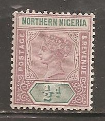 Northern Nigeria  SC 1  Mint LightlyHinged