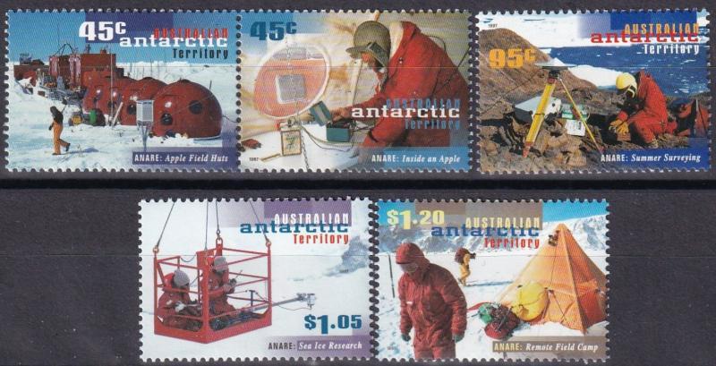 Australia  #L102-6  MNH CV $10.20 (A19791)