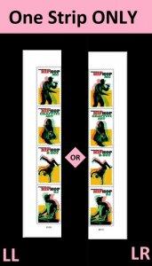 US 5480-5483 5483a Hip Hop forever plate strip set MNH 2020 after 7/15