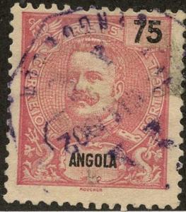 Angola, Scott #49, Used