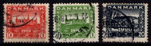 Denmark 1920-21 Recovery of Northern Schleswig, Part Set [Used]