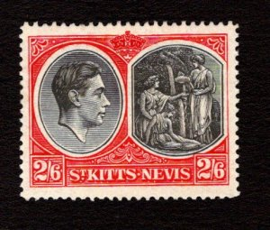 ST. KITTS AND NEVIS  SC# 87  FVF/MLH