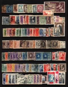 Spain 1876-1946 Mint & Used Early Lot, King Alfonso, Back of Book 116 items