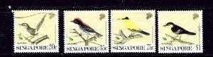 Singapore 605-08 Used 1991 Birds