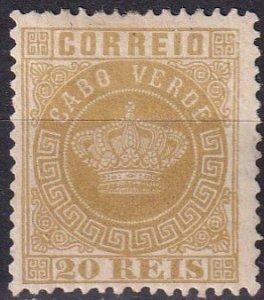 Cape Verde #3 F-VF Unused CV $3.00 (Z2009)