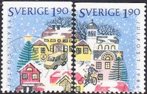 Sweden #1614-1617 Used Set