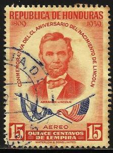 Honduras Air Mail 1959 Scott# C295 Used