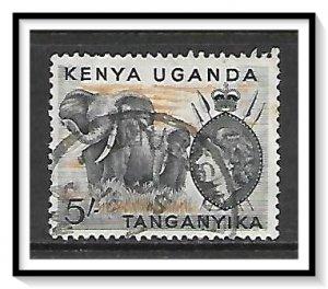 Kenya Uganda Tanganyika (KUT) #115 QE II & Elephants Used
